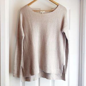 Joie Tan Wool Blend Knit Oversized Sweater XS